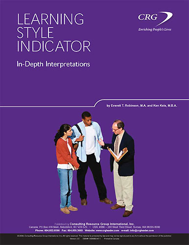 Learning Style Indicator In-depth Interpretations